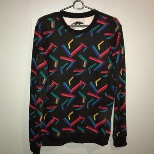 Geomertric Design Sweatshirt